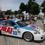 day 2 muhlner porsche 911 gt3 cup the heat tomy drissi detroit saturday 01