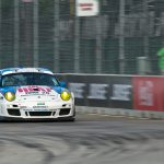 day 2 muhlner porsche 911 gt3 cup the heat tomy drissi detroit saturday 09