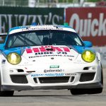 day 2 muhlner porsche 911 gt3 cup the heat tomy drissi detroit saturday 14