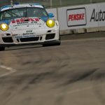 day 2 muhlner porsche 911 gt3 cup the heat tomy drissi detroit saturday 16