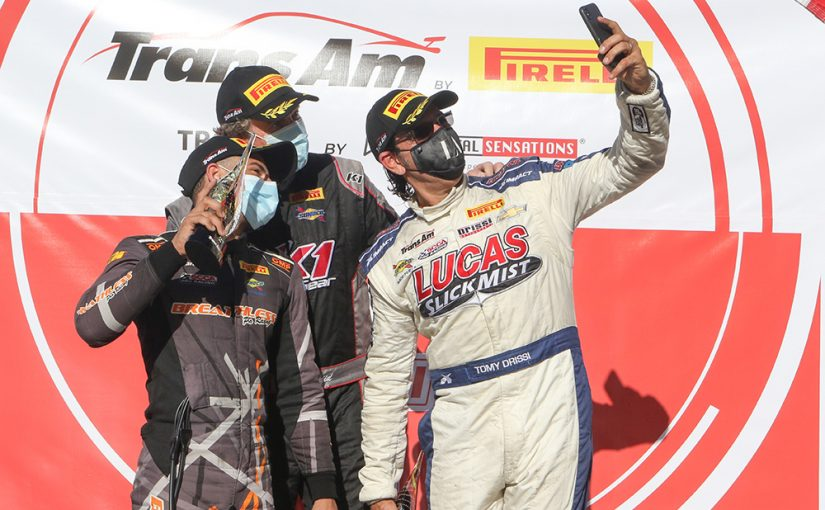 Another Podium for the Lucas SlickMist Driver Tomy Drissi in Texas for the Trans Am Presented by Pirelli Championship